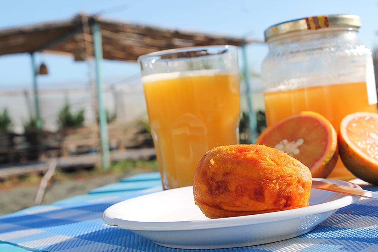 la colazione con frutta di stagione