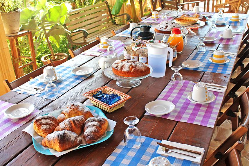 colazione da mare indaco