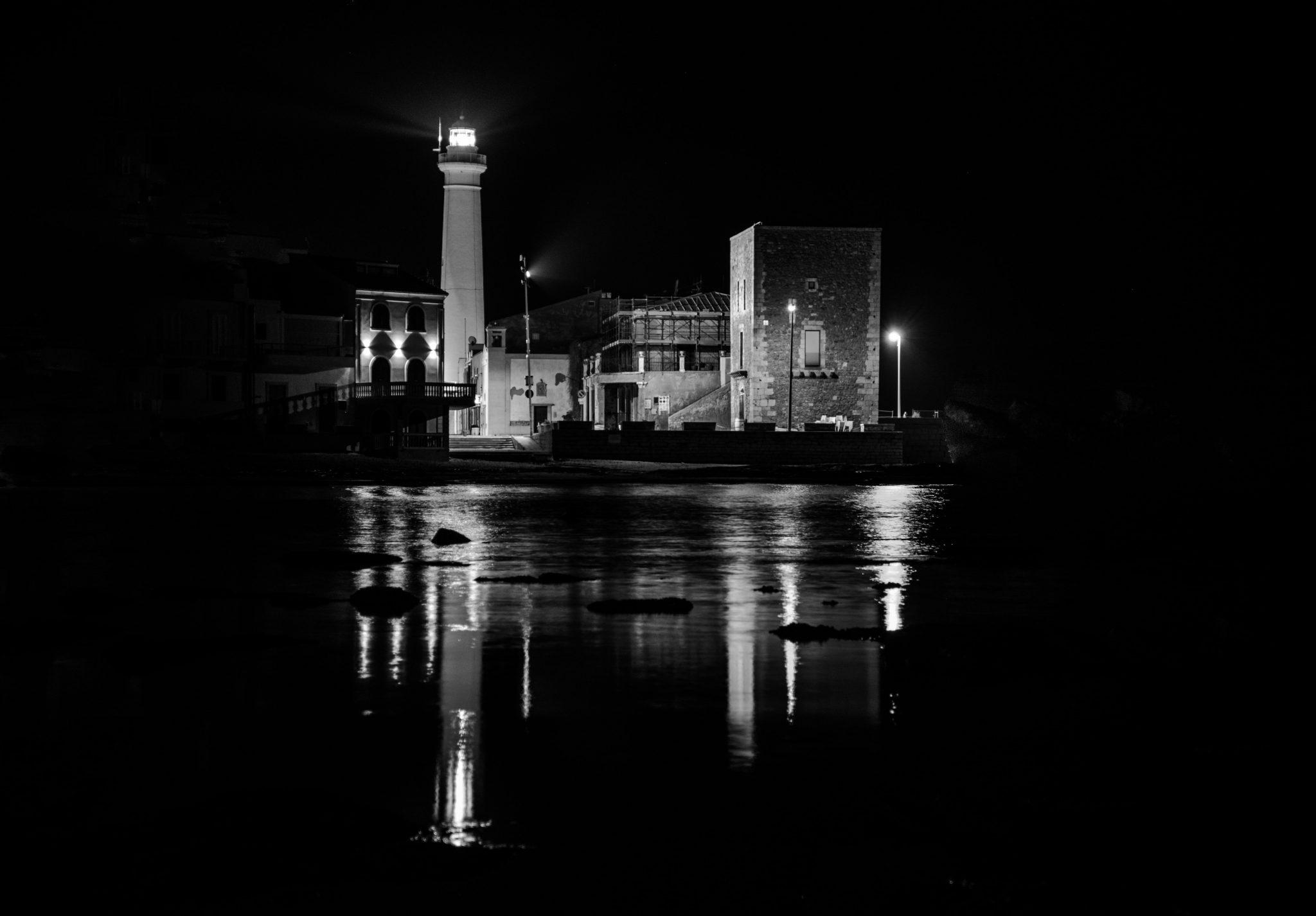 punta secca by night